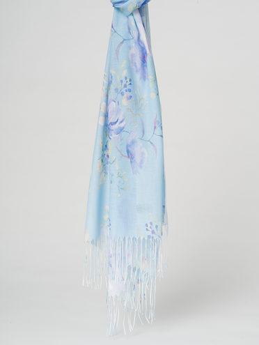 Шарф 50% хлопок,50% вискоза, цвет голубой, арт. 25711593  - цена 890 руб.  - магазин TOTOGROUP