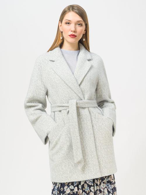 Текстильное пальто артикул 25809279/52 - фото 2