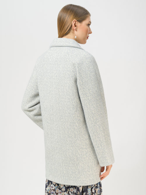 Текстильное пальто артикул 25809279/52 - фото 3