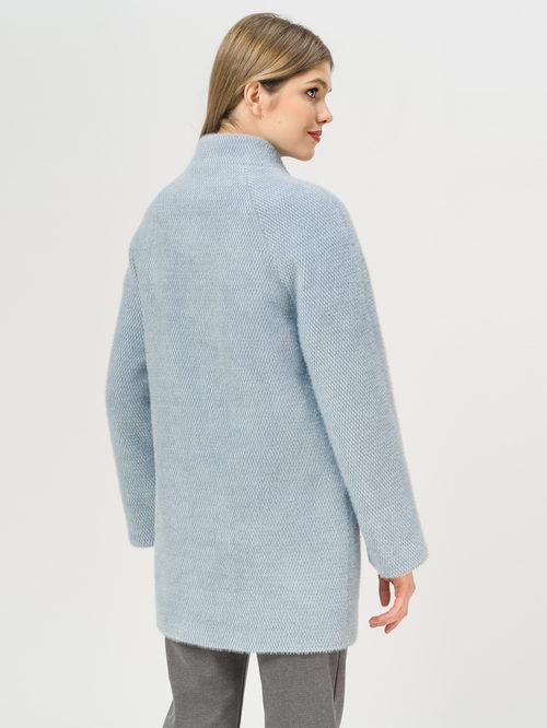 Текстильное пальто артикул 25809281/44 - фото 3