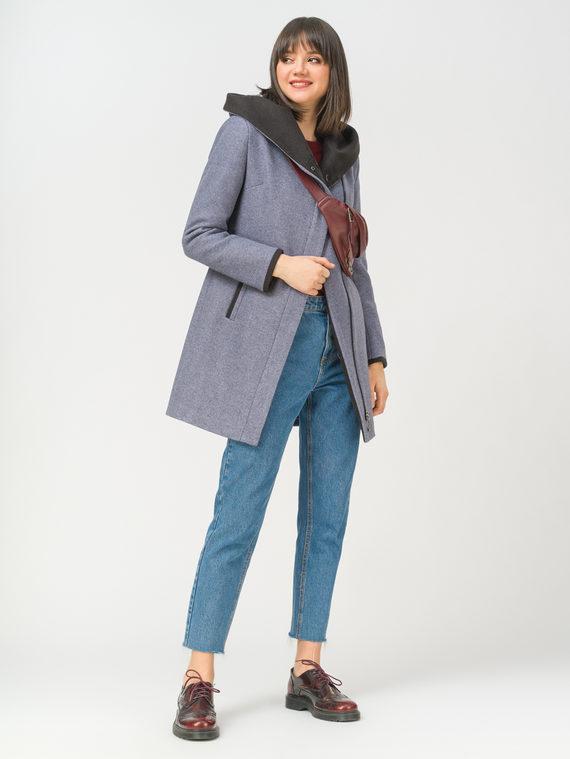 Текстильная куртка 35% шерсть, 65% полиэстер, цвет голубой, арт. 25809974  - цена 7990 руб.  - магазин TOTOGROUP