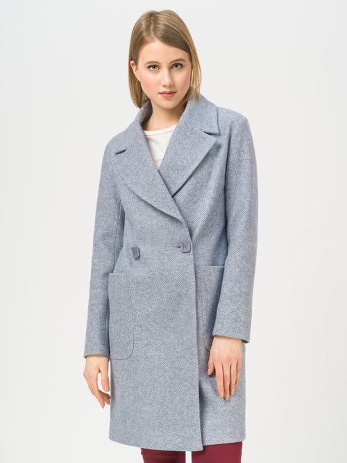 Текстильное пальто артикул 25809981/42 - фото 2
