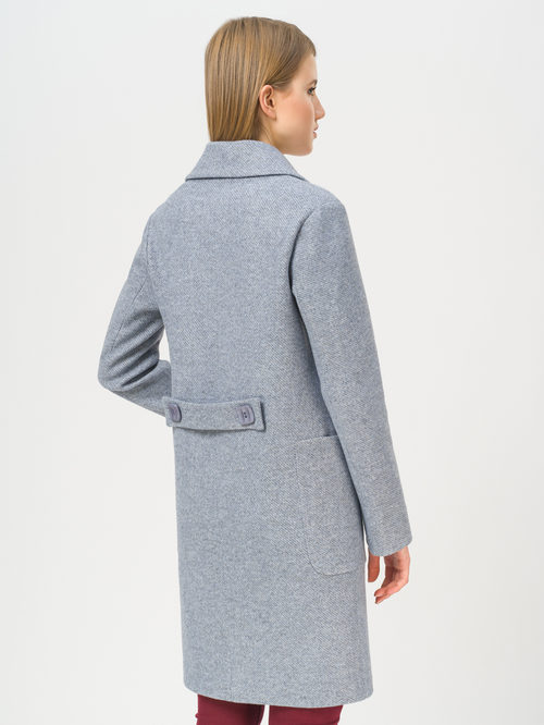 Текстильное пальто артикул 25809981/42 - фото 3