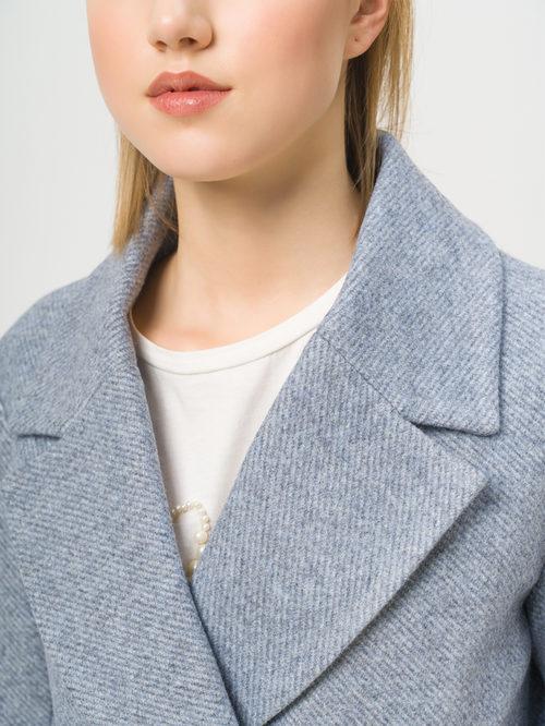 Текстильное пальто артикул 25809981/42 - фото 4