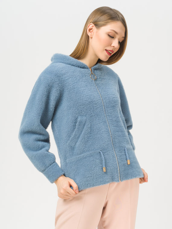 Текстильная куртка 100% полиэстер, цвет голубой, арт. 25810131  - цена 3990 руб.  - магазин TOTOGROUP