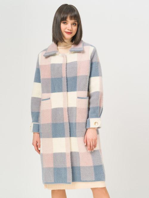 Текстильное пальто артикул 25810256/44 - фото 2