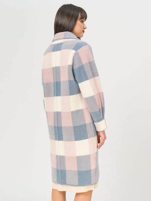 Текстильное пальто артикул 25810256/44 - фото 3