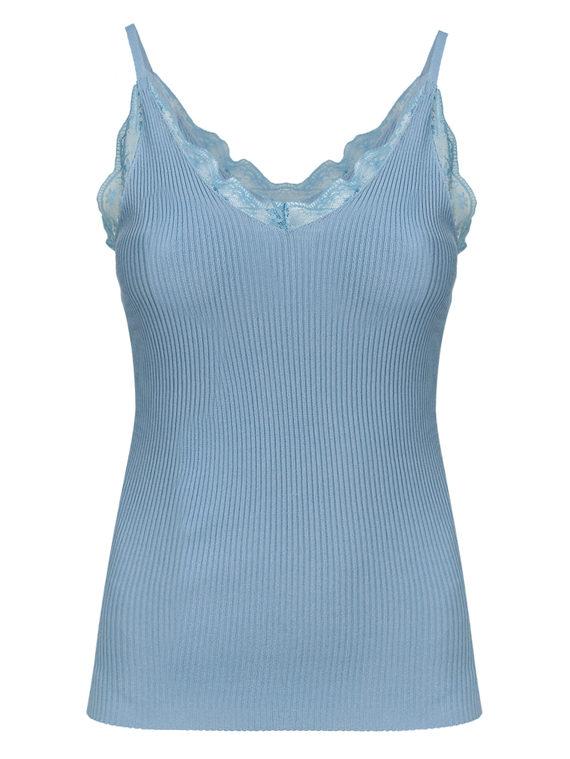 Джемпер 65%вискоза,35%нейлон, цвет голубой, арт. 25810549  - цена 990 руб.  - магазин TOTOGROUP