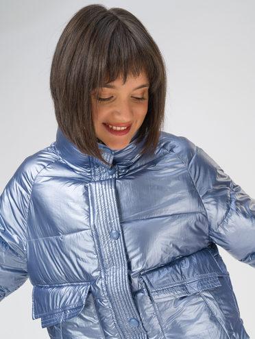 Пуховик 100% полиэстер, цвет голубой, арт. 25810701  - цена 3590 руб.  - магазин TOTOGROUP