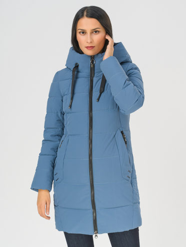 Пуховик 100% полиэстер, цвет голубой, арт. 25811096  - цена 5590 руб.  - магазин TOTOGROUP