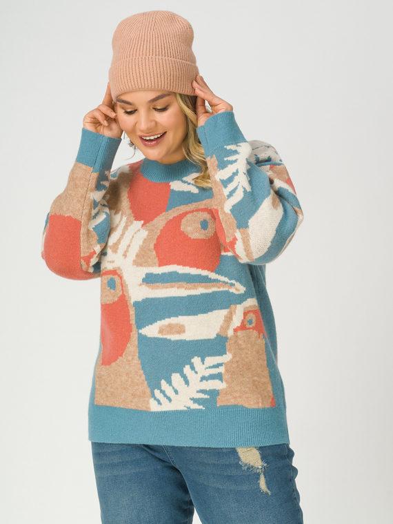Джемпер , цвет голубой, арт. 25811275  - цена 2840 руб.  - магазин TOTOGROUP