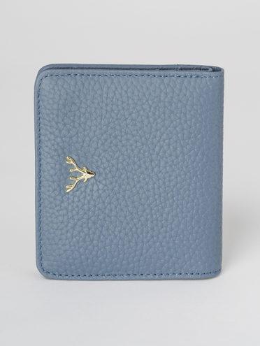 Кошелек кожа теленок, цвет голубой, арт. 25811291  - цена 1130 руб.  - магазин TOTOGROUP