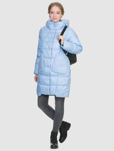 Пуховик текстиль, цвет голубой, арт. 25900632  - цена 6630 руб.  - магазин TOTOGROUP