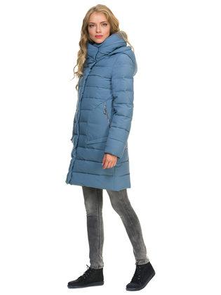 Пуховик текстиль, цвет голубой, арт. 25900962  - цена 5290 руб.  - магазин TOTOGROUP