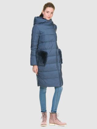 Пуховик текстиль, цвет голубой, арт. 25901069  - цена 10590 руб.  - магазин TOTOGROUP