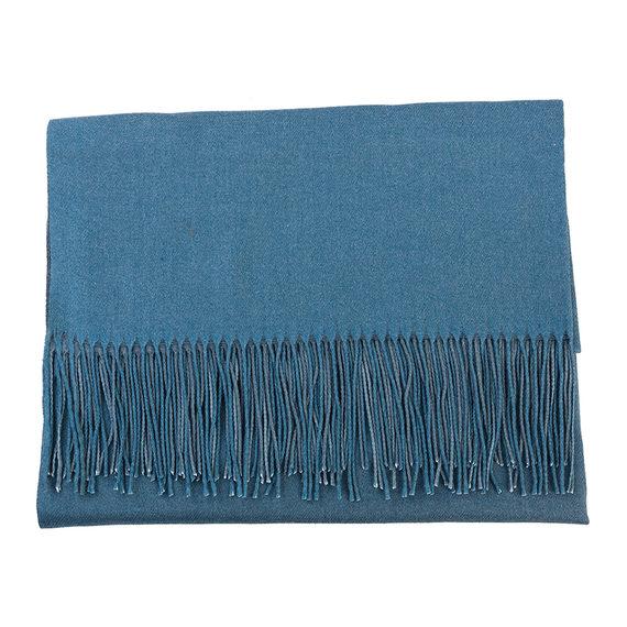 Шарф 100% кашемир, цвет голубой, арт. 25903542  - цена 740 руб.  - магазин TOTOGROUP