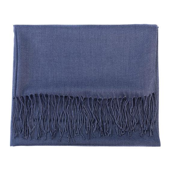 Шарф 100% кашемир, цвет голубой, арт. 25903543  - цена 440 руб.  - магазин TOTOGROUP