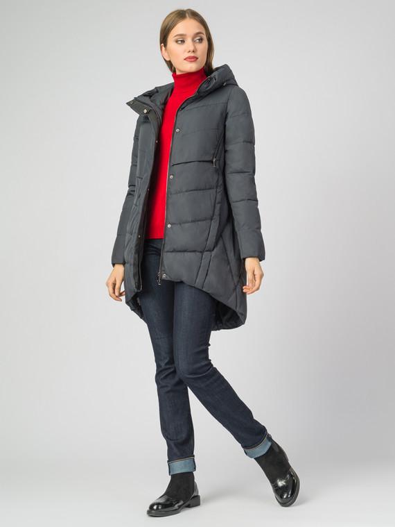 Пуховик текстиль, цвет темно-серый, арт. 26000633  - цена 6990 руб.  - магазин TOTOGROUP