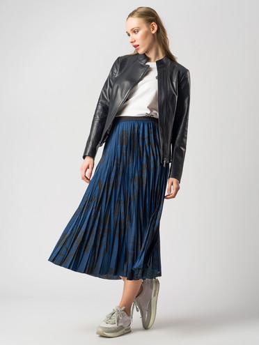 Кожаная куртка кожа , цвет темно-синий, арт. 26005901  - цена 9990 руб.  - магазин TOTOGROUP