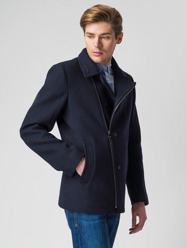 Текстильная куртка 51% п/э,49%шерсть, цвет темно-синий, арт. 26005945  - цена 3790 руб.  - магазин TOTOGROUP