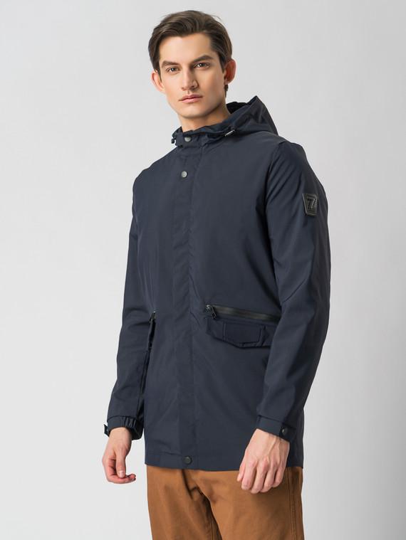 Ветровка текстиль, цвет темно-синий, арт. 26005974  - цена 2990 руб.  - магазин TOTOGROUP