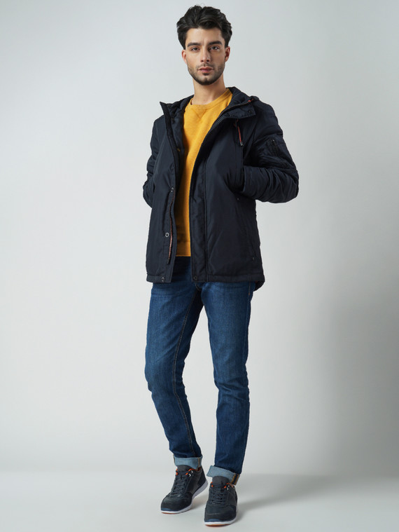 Ветровка текстиль, цвет темно-синий, арт. 26006049  - цена 5890 руб.  - магазин TOTOGROUP