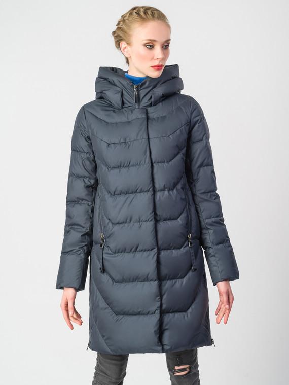 Пуховик текстиль, цвет темно-синий, арт. 26006220  - цена 8990 руб.  - магазин TOTOGROUP