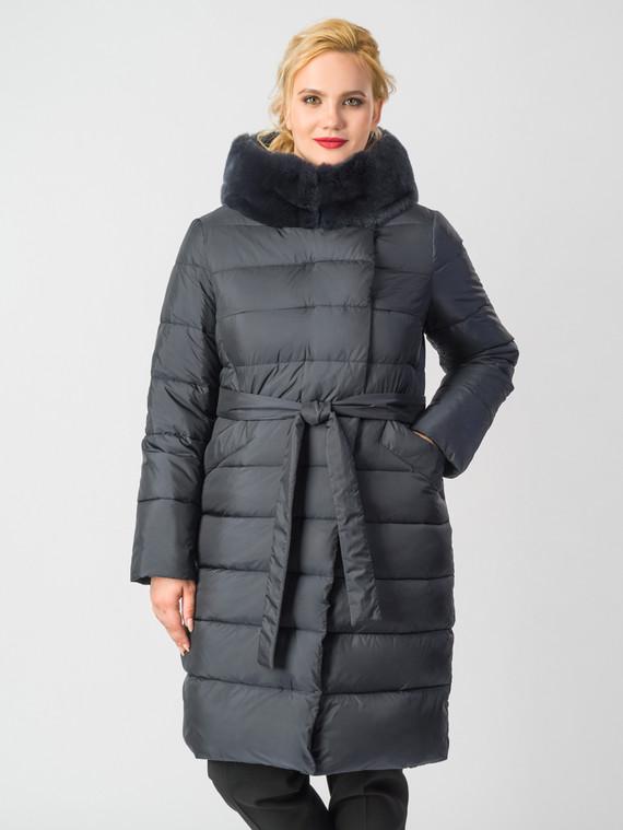 Пуховик текстиль, цвет темно-синий, арт. 26006247  - цена 14990 руб.  - магазин TOTOGROUP