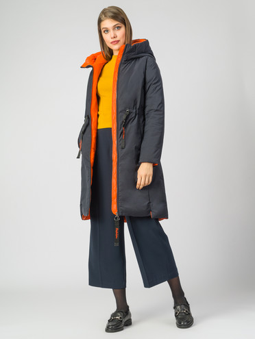 Пуховик текстиль, цвет темно-синий, арт. 26006276  - цена 7990 руб.  - магазин TOTOGROUP