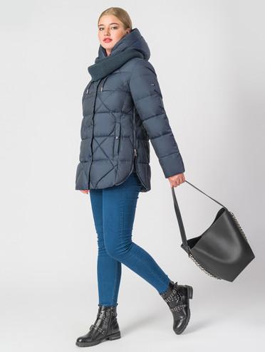 Пуховик текстиль, цвет темно-синий, арт. 26006290  - цена 9490 руб.  - магазин TOTOGROUP