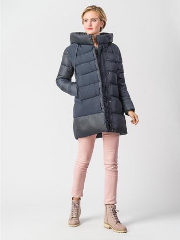 Пуховик текстиль, цвет темно-синий, арт. 26006337  - цена 8990 руб.  - магазин TOTOGROUP