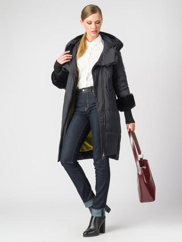 Пуховик текстиль, цвет темно-синий, арт. 26006353  - цена 29990 руб.  - магазин TOTOGROUP