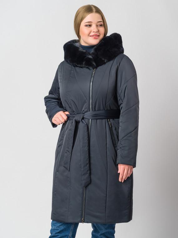Пуховик текстиль, цвет темно-синий, арт. 26006461  - цена 14190 руб.  - магазин TOTOGROUP