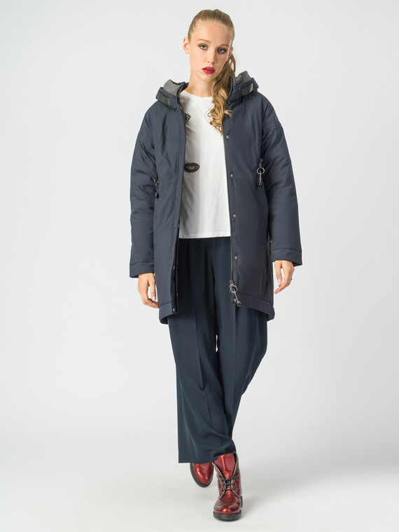 Пуховик текстиль, цвет темно-синий, арт. 26006476  - цена 6290 руб.  - магазин TOTOGROUP