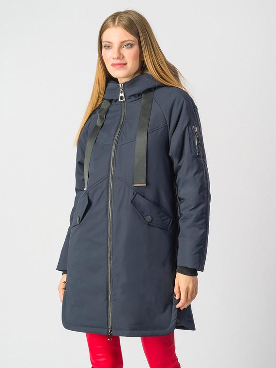 Пуховик текстиль, цвет темно-синий, арт. 26006487  - цена 6290 руб.  - магазин TOTOGROUP