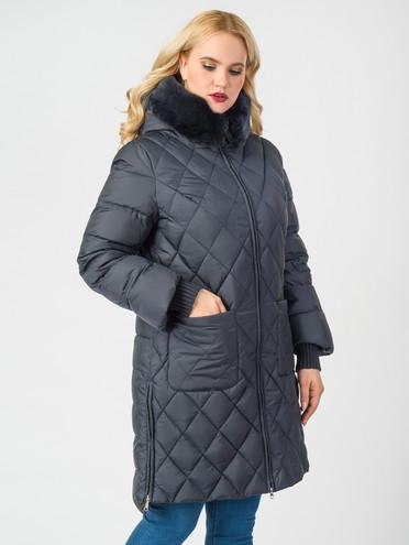 Пуховик текстиль, цвет темно-синий, арт. 26006525  - цена 11290 руб.  - магазин TOTOGROUP