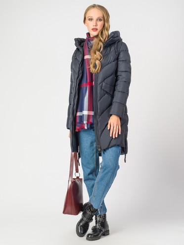 Пуховик текстиль, цвет темно-синий, арт. 26006526  - цена 9490 руб.  - магазин TOTOGROUP
