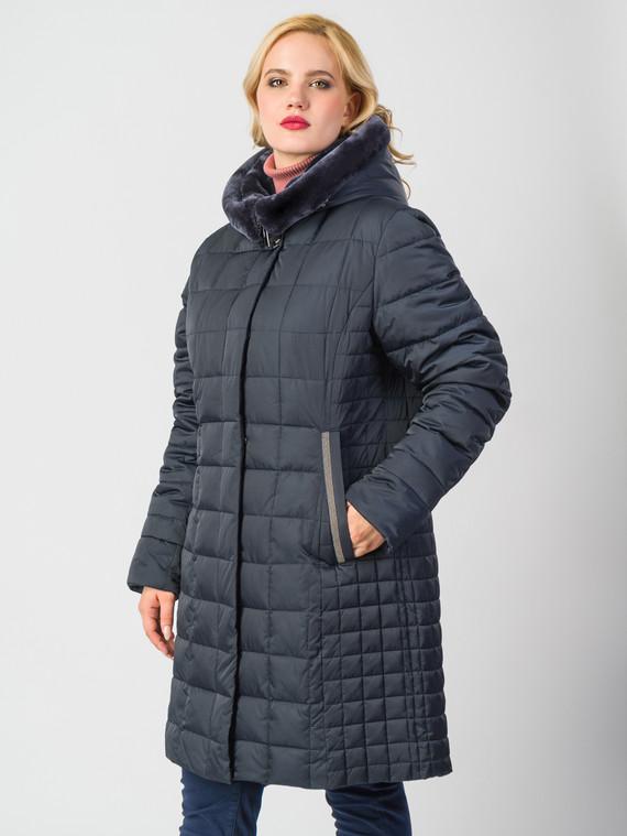 Пуховик текстиль, цвет темно-синий, арт. 26006557  - цена 9990 руб.  - магазин TOTOGROUP
