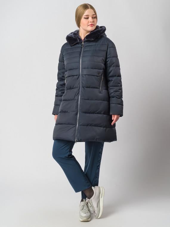 Пуховик текстиль, цвет темно-синий, арт. 26006560  - цена 9490 руб.  - магазин TOTOGROUP