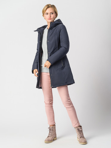 Пуховик текстиль, цвет темно-синий, арт. 26006575  - цена 6630 руб.  - магазин TOTOGROUP