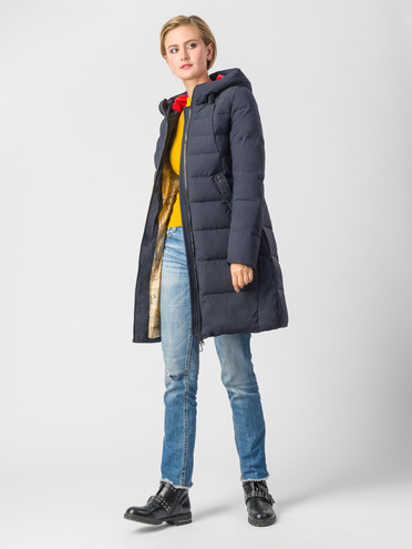 Пуховик текстиль, цвет темно-синий, арт. 26006582  - цена 5890 руб.  - магазин TOTOGROUP