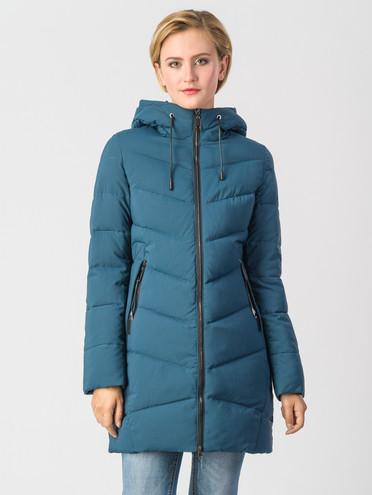 Пуховик текстиль, цвет бирюзовый, арт. 26006587  - цена 4990 руб.  - магазин TOTOGROUP