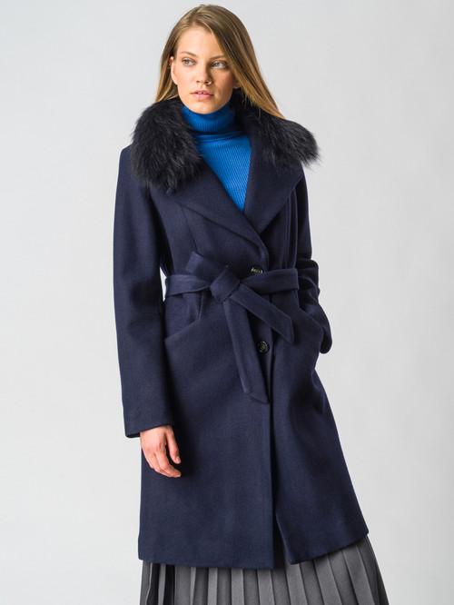 Текстильное пальто артикул 26006601/42 - фото 2
