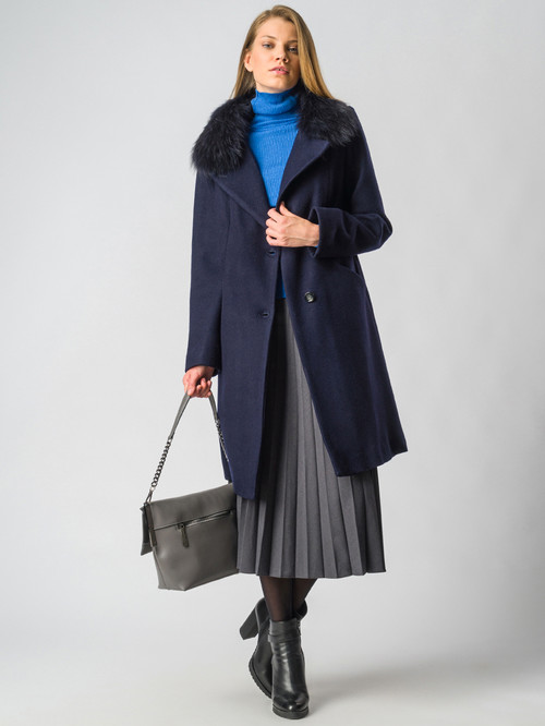 Текстильное пальто артикул 26006601/42