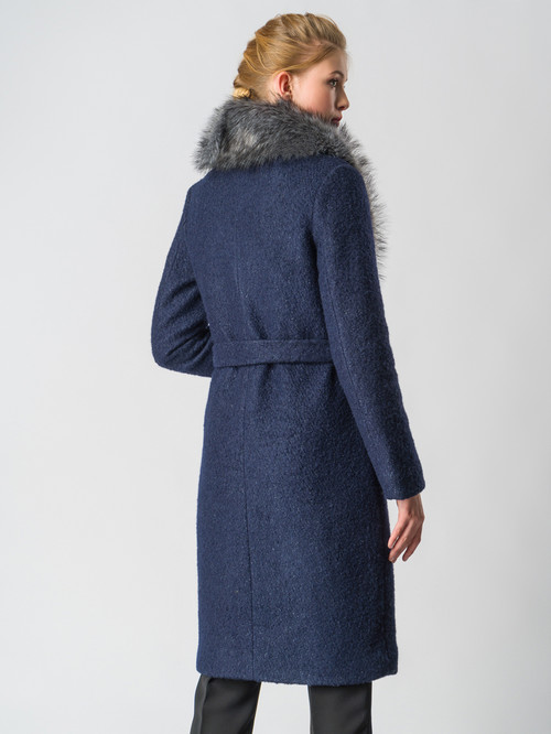 Текстильное пальто артикул 26006603/42 - фото 3