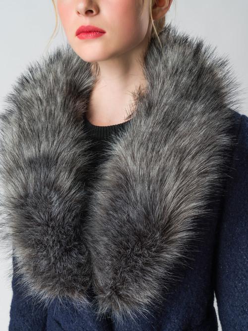 Текстильное пальто артикул 26006603/42 - фото 4