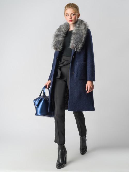 Текстильное пальто артикул 26006603/42