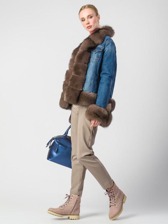 Текстильная куртка текстиль, цвет синий, арт. 26006673  - цена 28490 руб.  - магазин TOTOGROUP
