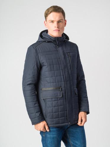 Пуховик текстиль, цвет темно-синий, арт. 26006769  - цена 6290 руб.  - магазин TOTOGROUP