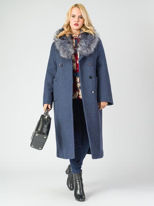 Текстильное пальто артикул 26006813/46 - фото 2